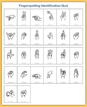 Women's History Month (ASL Fingerspelling)
