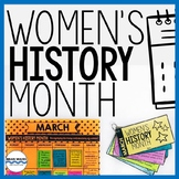 Women's History Month Activities, Lessons, Calendar, Women