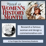 Women's History Month Project: Research, Writing, Drawing!
