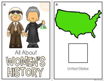 Women's History Month Adapted Book { Level 1 and Level 2 }
