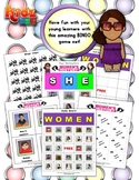 Women's History Month Bingo / Matching Activity