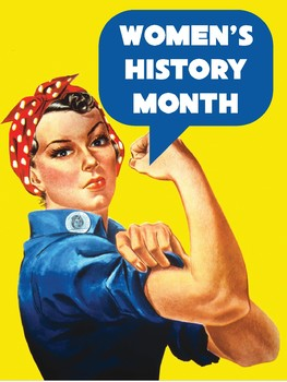Women's History Month Biography Display