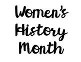 Women's History Month Bulletin Board