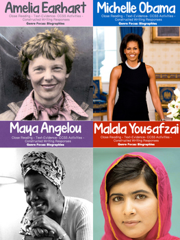 Women's History Month Bundle {40 Pages for Close Reading & Research}