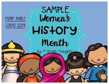 Women's History Month Bundle {SAMPLE}