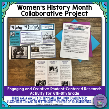 Women's History Month Collaborative Research Project