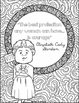 Women's History Month Coloring Pages | 24 Fun, Creative Designs