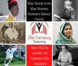 Women's History Month: DIGITAL ACTIVITY!