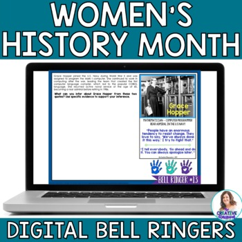 Women's History Month DIGITAL Bell Ringers