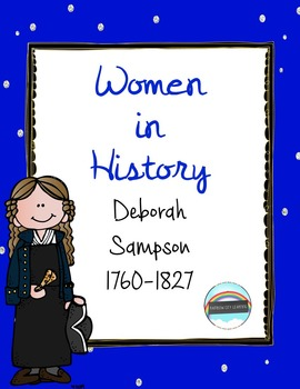 Women's History Month Close Read and Writing: Deborah Sampson