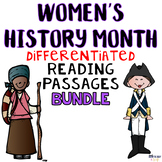 Women's History Month Differentiated Reading Passages Bundle