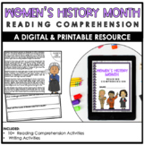 Women's History Month | Digital Version | Distance Learning