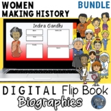 Women Making History Digital Biography Template Pack