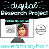 Women's History Month Digital Research Project