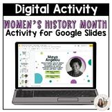 Women's History Month Digital Resource -Google Classroom™