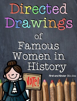 Women's History Month Directed Drawings