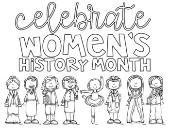 Women's History Month Display Poster