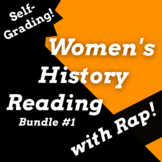 Women's History Month Google Classroom Reading Activities
