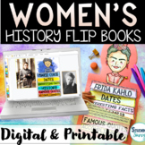 Women's History Month Google Slides Activities DIGITAL & P