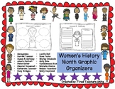 Women's History Month Graphic Organizers
