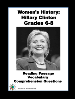 Women's History Month: Reading Passage - Hillary Clinton