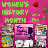 Women's History Then & Now Interactive Notebook with Test Prep Passage