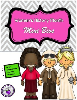 Women's History Month Mini Biographies