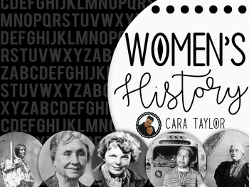 Women's History Month ~ Mini Books for Primary Learners