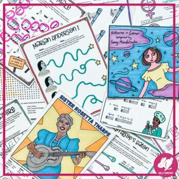 Women's History Month Music Worksheets
