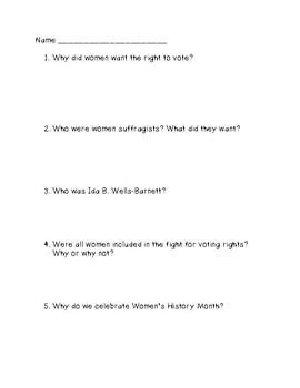 Fighting for Women's Rights