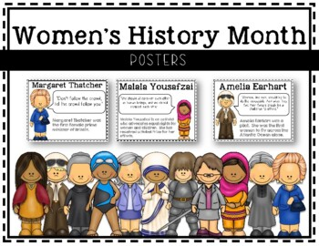 Women's History Month Posters