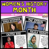 Women's History Month Posters   Well-Known, Lesser-Known, Modern