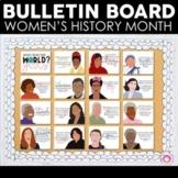 Women's History Month Posters | International Women's Day | Bulletin Board Set