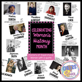 Women's History Month Posters of Inspirational People & Quotes