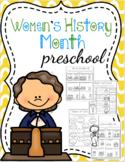 Women's History Month Preschool Printables