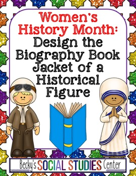 Women's History Month Project: Design the Book Jacket of a