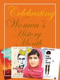 Women's History Month Projects, Essays, and Novels (All Editable!)