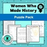 Puzzle Pack-Women's History