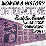 Women's History QR Code Bulletin Board