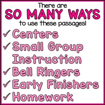 Women's History Month Reading Comprehension Passages (K-2) - Social Studies