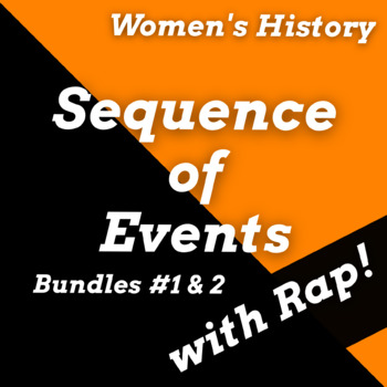 Women's History Month Reading Passages, Sequence of Events Worksheets Dbl Bundle