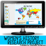 Women's History Month Research - Interactive / Digital Version
