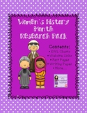Women's History Month Research Pack