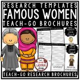 Influential Women's History Month Research Project & Rubri