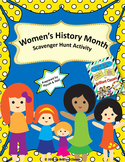 Women's History Month Scavenger Hunt