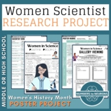 Women's History Month Scientist Poster & Gallery Research Project