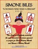 Women's History Month / Black History Month: Simone Biles - American Gymnast