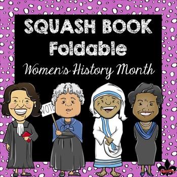 Women's History Month Squash Book