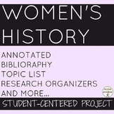 Women's History Month Student-centered project on Women ar
