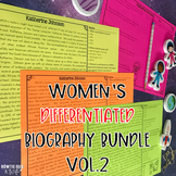 Women's History Month Volume 2 Differentiated Reading Pass